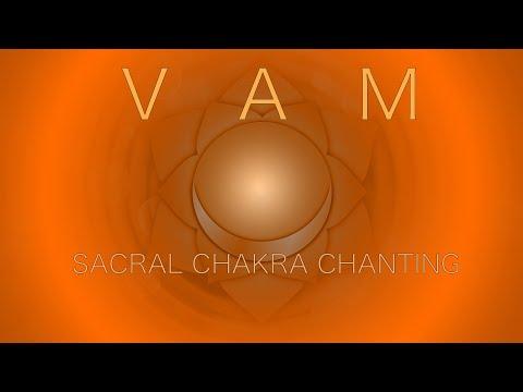 Sacral Chakra Meditation at 417 Hz - VAM Mantra Chanting Svadhisthana 1Hr
