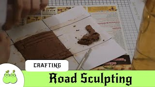 Make a Miniature City Step 1: Project Intro & Road Sculpting