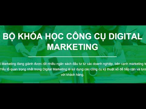 Bộ khóa học công cụ Digital Marketing [Intro]