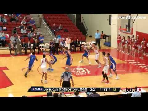 Highlights - Men's Basketball Vs. American 1/11/17