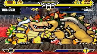 Bowser's Party 4v4 Patch MUGEN 1.0 Battle!!!