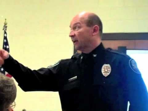 Chief Ken Miller Loses Cool When Questioned At Community Forum