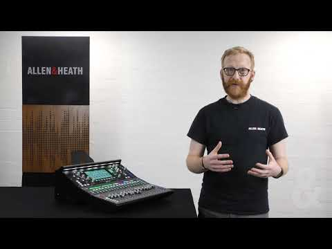 Allen & Heath SQ - See the Sound with the RTA's