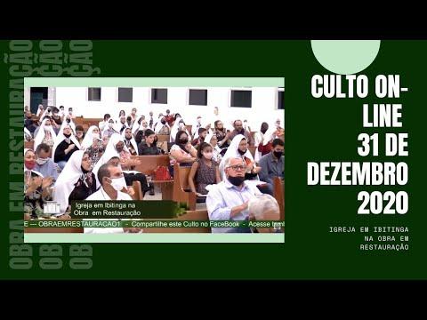 Culto On-Line dia 31 de Dezembro 2020 - Igreja em Ibitinga na Obra em Restaura��o