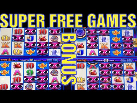 SUPER FREE GAMES !!!! JACKPOT CHASING !!! HERE KITTY KITTY KITTY............