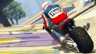 GTA Online Time Trial - Storm Drain (Under Par Time)