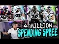 4 MILLION COIN SPENDING SPREE | MADDEN 19 ULTIMATE TEAM