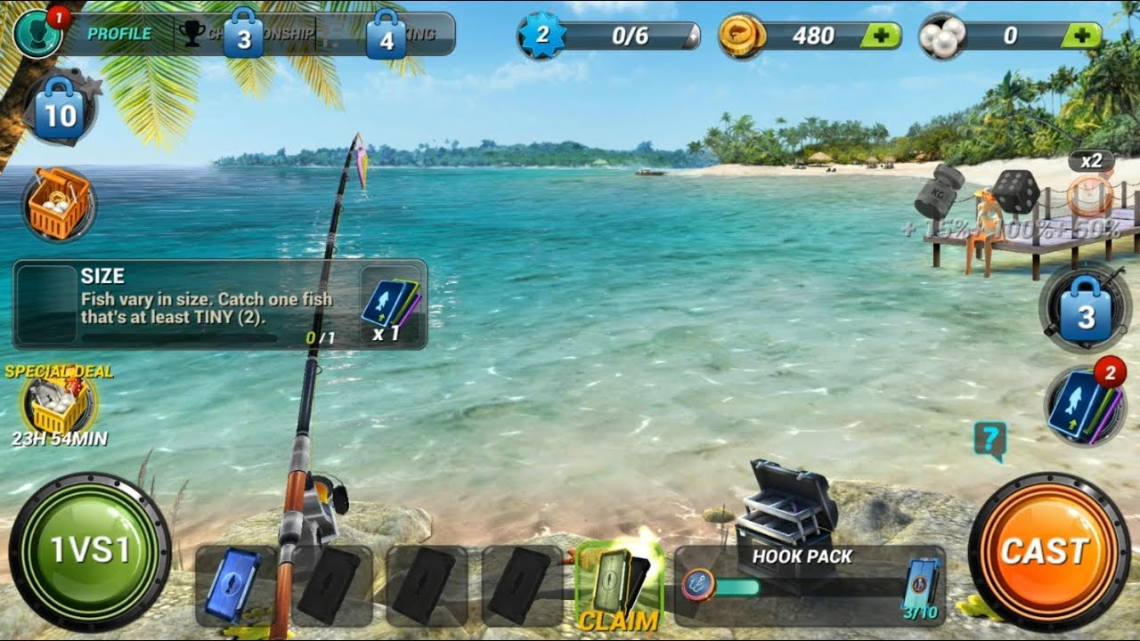 free bass fishing games for android