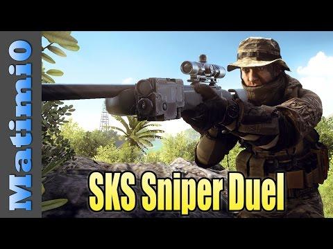 SKS Sniper Duel - Preparing for Prison - Battlefield 4