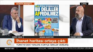 Büyükada'da 10 ajanın yaptığı toplantıda Türkiye'deki yerlere Kürtçe isimler verilmiş