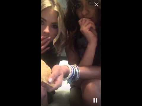 Ashley Benson and Shay Mitchell Periscope June 10th, 2015