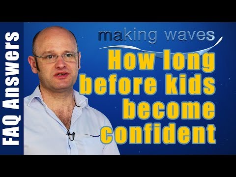Making Waves Swimming East Kilbride Glasgow - How long does it take for kids become confident