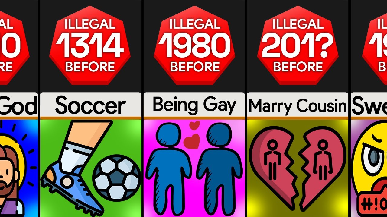 Comparison: Things You Don't Believe Were Illegal