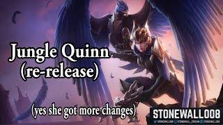 League of Legends - PBE Jungle Quinn (another rework)