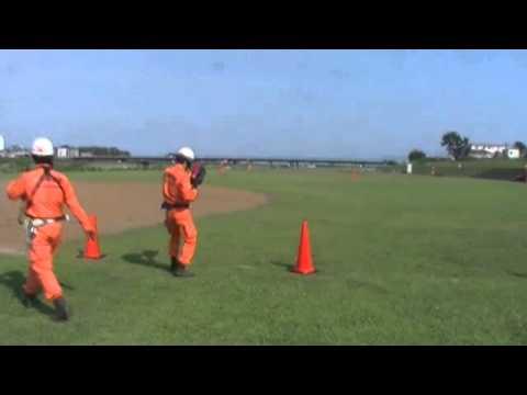 救命索発射銃訓練動画