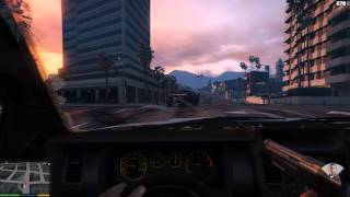 GTA V PC gameplay - 1st person only, gameplay ONLY, no commentary.
