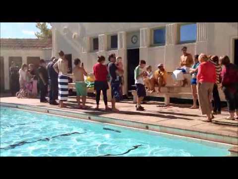 Manuka Swimming Pool Canberra Last Day Of Season 2012 Farewell John Taverner Youtube