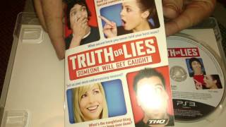 Nostalgamer Unboxes Truth Or Lies On Sony Playstation 3 Three UK PAL System Version