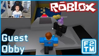 Roblox Guest Obby by FUDZ (ROBLOX GUESTS ARE NOOBS?!?!?!)