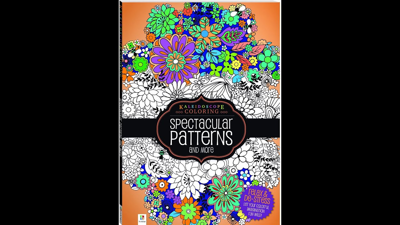 Flip Through Kaleidoscope Coloring Spectacular Patterns And More Book