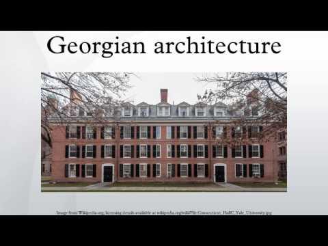 Georgian architecture