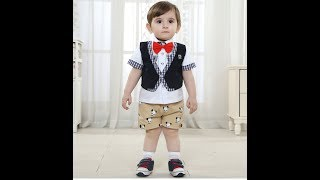 Cute Fancy outfits for baby boy 8-12 month
