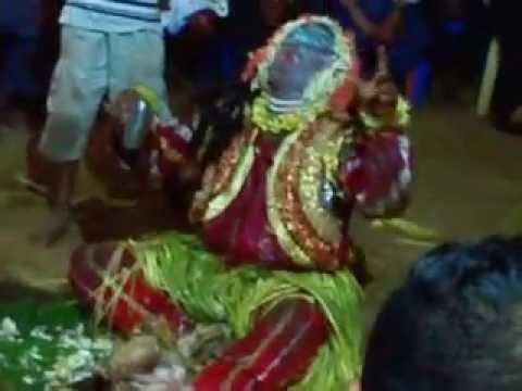 Bhoota kola guliga chavandi at donderangadi udupi