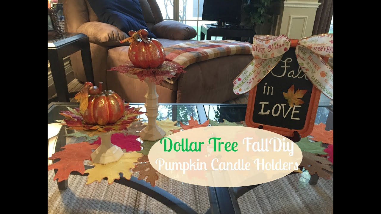 dollar tree fall craft ideas dollar tree fall diy pumpkin candle holders 2016 12135