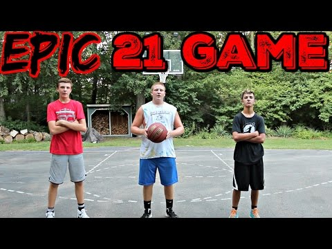 EPIC 21 BASKETBALL Game! WITH CAM PIZZO