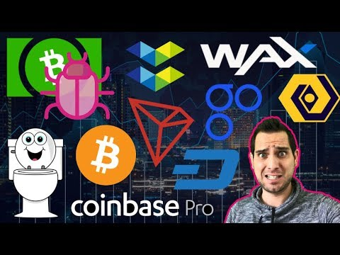 Bitcoin Cash BUG! TRON Toilets 🚽 OmiseGO SCAM   Bitfi Hacked? $DASH NFC Party!  $TRX $OMG $BCH $WAX