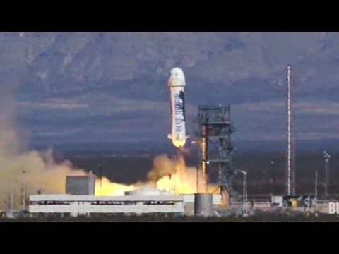 Blue Origin sends rocket to space and lands it ... again