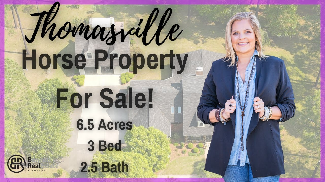 Thomasville GA Home for Sale - 225 Spring Ridge Rd