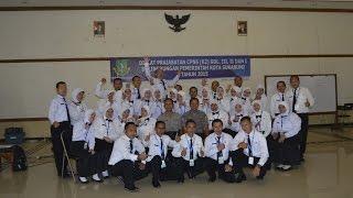 Yel Yel luarbiasa Diklat Prajabatan K2 Kota Sukabumi 2015