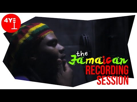 THE JAMAICAN RECORDING SESSION