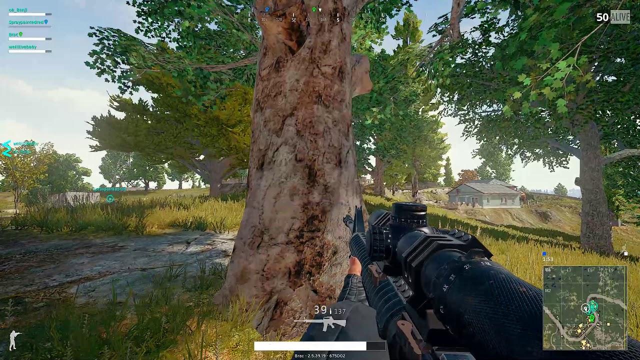 PUBG Is He Dead Yet? Triple Kill M16 With An 8x