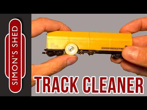 Motorised Track Cleaner unboxing – Lux Modellbau Schienenschleifwagen