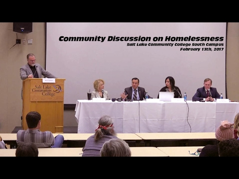 Community Discussion on Homelessness - February 13th, 2017