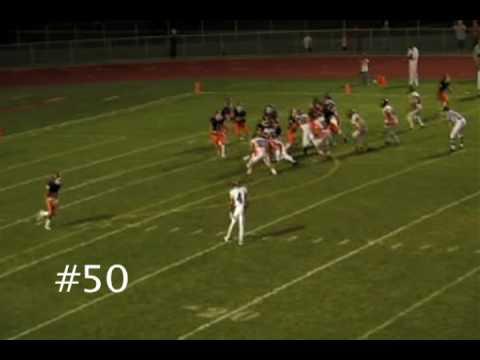 John Focosi Barrington High School Senior Football...