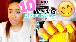 One of ItsHeyMorgan's most viewed videos: 10 Nail Hacks Every Girl Should Know!