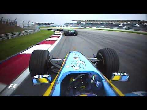 Fernando Alonso's Superb Start | 2004 Malaysian Grand Prix