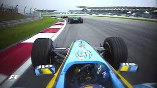 Fernando Alonso's Superb Start | 2004 Malaysian Grand Prix thumbnail