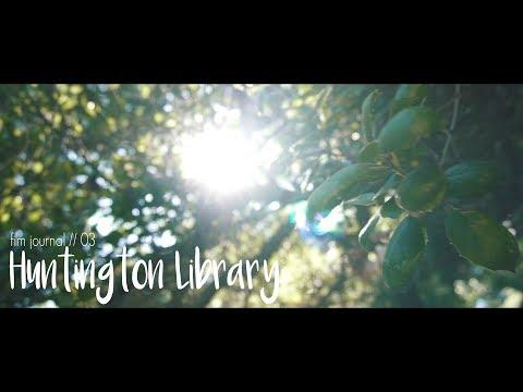 Huntington Library   Sony A6500 16-50mm + Rokinon Cine 35mm // Los Angeles - Film Journal #3