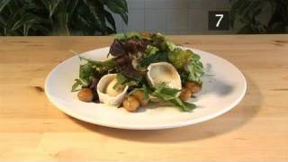 How To Do Glazed Chestnut And Goat's Cheese Salad