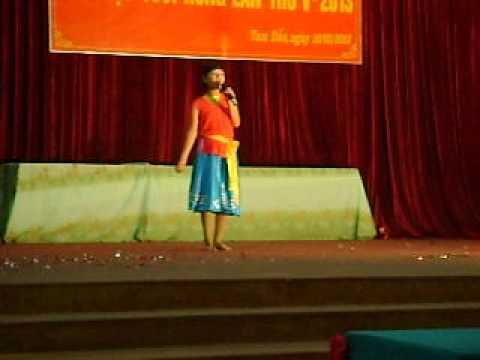 Mua hat bai Di Cay- Do Thu Thuy trinh bay cung top mua- Truong THCS Tam Dao (CLC)