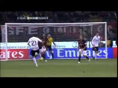 AC Milan Vs Palermo 3-1 All goals ...