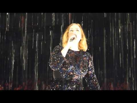 Adele 'Set Fire To The Rain' Live @ 02 Arena London 18.03.16 HD
