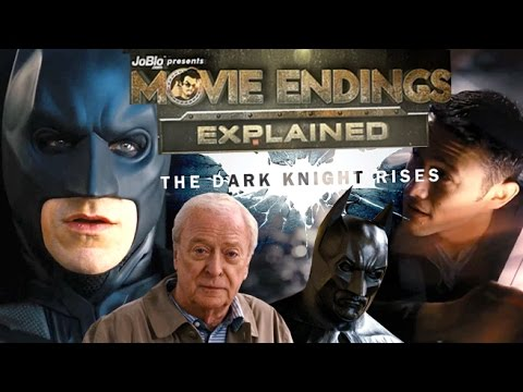 Movie Endings Explained - The Dark Knight Rises (2012) Christopher Nolan, Christian Bale
