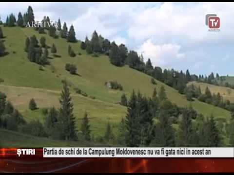 Partia de schi de la Campulung Moldovenesc nu va fi gata nici in acest an