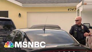 FBI Search Brian Laundrie's Florida Home In Gabby Petito Case