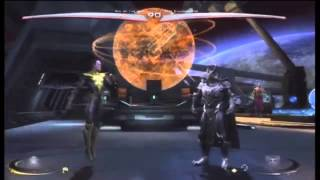 Pig of the Hut ( Sinestro )  vs Chaosphere ( Ares )  week 1 Injustice Gameplay
